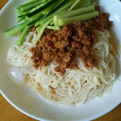 簡単 ジャージャー素麺