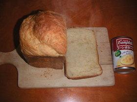 キャンベルのスープ缶で栄養満点?パン