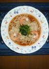 海老と小松菜の冷やしラーメン
