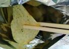 ポテトチップス⭐割り箸で食べて下さいね⭐