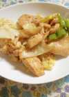 鶏肉と野菜のピリ辛炒め