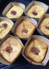 生さくらんぼのベークドチーズケーキ