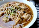 ふわふわ肉団子の中華あんかけ煮
