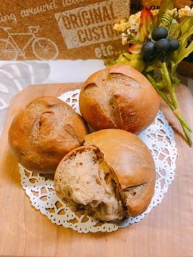糖質オフ!クリームチーズふすまパン
