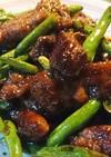 牛肉と野菜の甘辛焼き