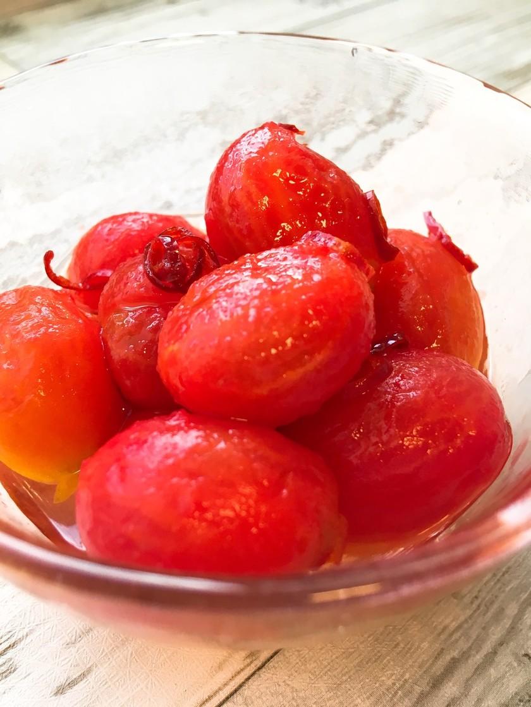 すぐに食べられる♡ミニトマトのピクルス