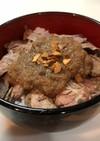 絶品ステーキ丼★オニオンソースが激ウマ!