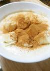 オーツ麦とバナナのハチミツレモンラッシー
