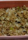 ダイエット十八雑穀米炒飯自然の油で。