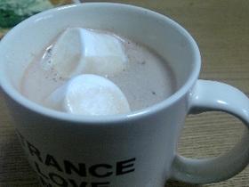 冬を楽しむ◇カフェモカ。