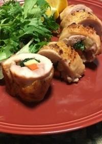 【行事食】12月X'マス鶏肉のロール焼き