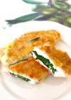 揚げない♫簡単ささみのチーズフライ