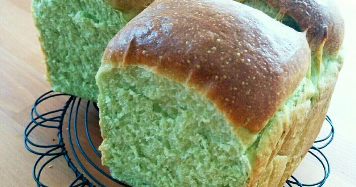 栄養満点☆青汁粉末入りふわふわ山食パン by ssakyurin