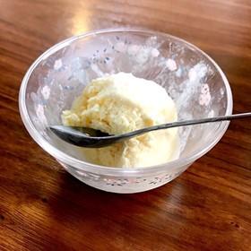 簡単バニラなし アイスクリーム