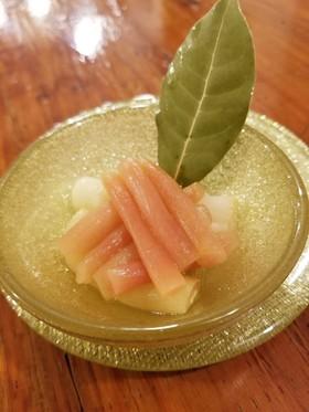 【野菜ソムリエ】ずいきのピクルス