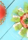 ☆刺身こんにゃくのカルパッチョ風サラダ☆
