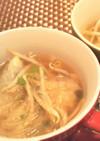 オイスターソースでコク旨☆野菜スープ餃子