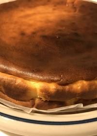 水切りヨーグルトでベイクドチーズケーキ☆