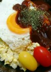 ざくざく混ぜて♥簡単手作り  ロコモコ丼