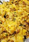 ポテト&牛ミンチのチーズ焼き