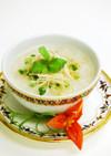 鶏肉スープのタイ風雑炊