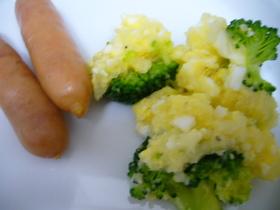 朝ごはんに楽ちん!ブロッコリーサラダ
