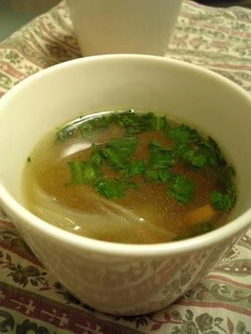 我が家の朝のカップスープ