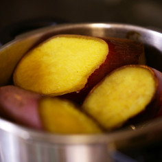 基本■圧力鍋で簡単*さつまいも*蒸かし芋