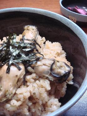 秘伝の牡蠣ごはん☆.。.:*・゜