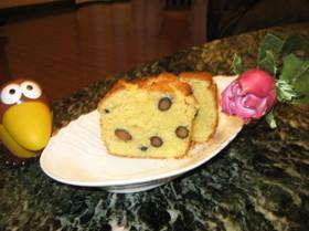 黒豆バナナのパウンドケーキ