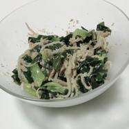 もやしちんげん菜ワカメの中華風サラダ