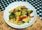 チンゲン菜と卵のふわっと餡炒め
