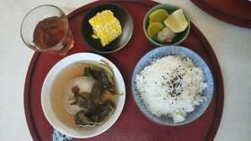 ある夏の朝食(血管ダイエット1265)