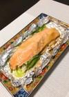 鮭のオイマヨちゃんちゃん焼き