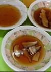 湯豆腐のたれ味と、干し椎茸のそうめんつゆ
