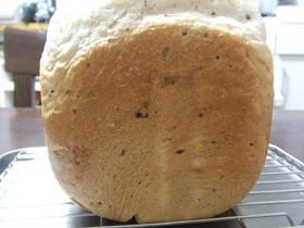 HBで簡単♪甘納豆パン