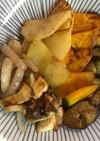 フライパンBBQ 野菜