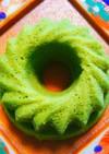 低糖質!おから蒸しケーキ(抹茶)