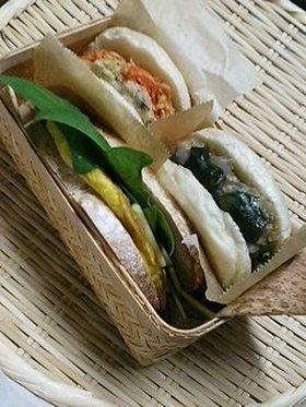 和風の具も美味しい☆サンドイッチ