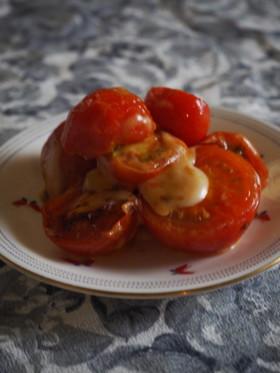プチトマトのチーズ焼き