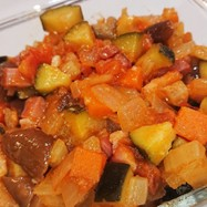 夏野菜の常備菜ラタトゥイユ
