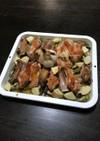 とり手羽と豚のスペアリブdeオーブン焼き