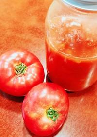 生トマトで作る♫自家製トマトピューレ