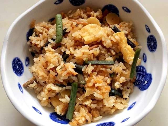 山菜 炊き込み ご飯
