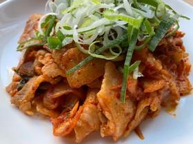 簡単激ウマ☆ご飯に合いすぎる豚キムチ