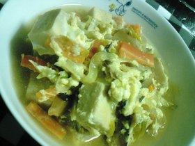 給食の味★高野豆腐の卵とじ