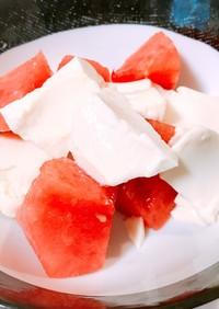 豆腐とお砂糖だけ♡簡単杏仁豆腐
