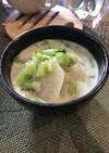 かぶの和風スープ  【炊飯器】