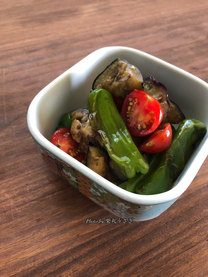 夏野菜シンプルマリネ