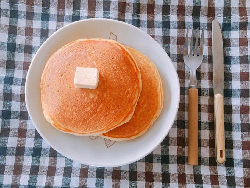 簡単!♡薄力粉で作るホットケーキ♡